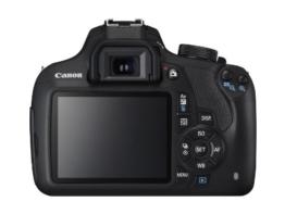 Canon EOS 1200D SLR-Digitalkamera (18 Megapixel APS-C CMOS-Sensor, 7,5 cm (3 Zoll) LCD-Display, Full HD) Kit inkl. 18-55mm IS Objektiv schwarz - 1