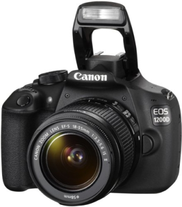 Canon EOS 1200D SLR-Digitalkamera (18 Megapixel APS-C CMOS-Sensor, 7,5 cm (3 Zoll) LCD-Display, Full HD) nur Gehäuse schwarz - 10