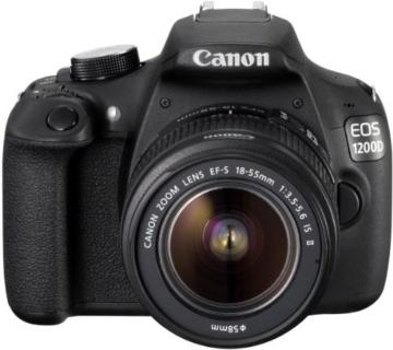 Canon EOS 1200D SLR-Digitalkamera (18 Megapixel APS-C CMOS-Sensor, 7,5 cm (3 Zoll) LCD-Display, Full HD) nur Gehäuse schwarz - 5