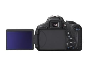 Canon EOS 600D SLR-Digitalkamera (18 Megapixel, 7,6 cm (3 Zoll) schwenkbares Display, Full HD) Kit inkl. EF-S 18-135mm 1:3,5-5,6 IS - 5