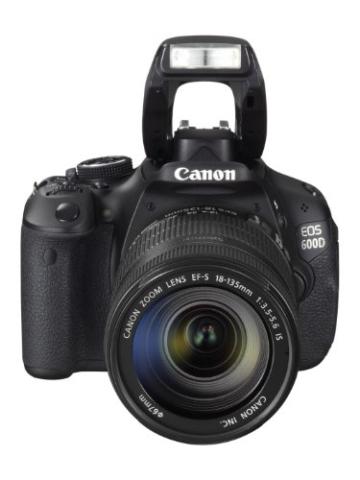 Canon EOS 600D SLR-Digitalkamera (18 Megapixel, 7,6 cm (3 Zoll) schwenkbares Display, Full HD) Kit inkl. EF-S 18-135mm 1:3,5-5,6 IS - 7