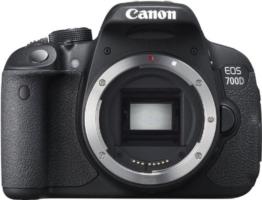 Canon EOS 700D Digital SLR-Kamera (18 Megapixel, 7,6 cm (3 Zoll) Display, Full HD, DIGIC 5) inkl. EF 18-55mm IS STM und EF 55-250mm IS STM Double-Zoom-Kit schwarz - 1