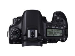 Canon EOS 70D SLR-Digitalkamera (20 Megapixel APS-C CMOS Sensor, 7,6 cm (3 Zoll) Display, Full HD, WiFi, DIGIC 5+ Prozessor) nur Gehäuse schwarz - 1