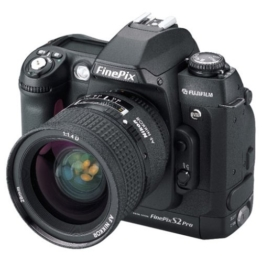 Fuji FinePix S2 Pro Digitalkamera (6,17 Megapixel) (nur Gehäuse) - 1