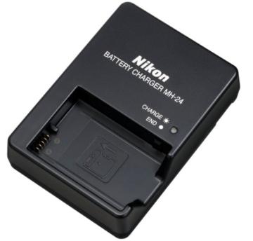 Nikon D5200 SLR-Digitalkamera (24,1 Megapixel, 7,6 cm (3 Zoll) TFT-Display, Full HD, HDMI) nur Gehäuse rot - 5