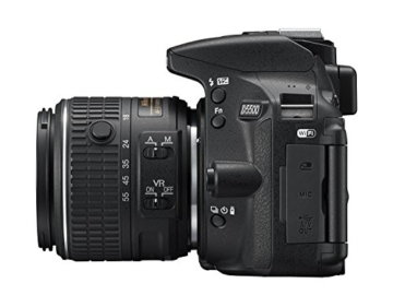 Nikon D5500 SLR-Digitalkamera (24 Megapixel, 8,1 cm (3,2 Zoll) Touchscreen-Display, bildstabilisiert, Full-HD-Video, Wi-Fi) Kit inkl. 18-55mm VR II Objektiv schwarz - 10
