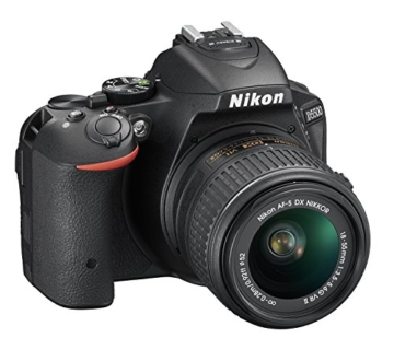Nikon D5500 SLR-Digitalkamera (24 Megapixel, 8,1 cm (3,2 Zoll) Touchscreen-Display, bildstabilisiert, Full-HD-Video, Wi-Fi) Kit inkl. 18-55mm VR II Objektiv schwarz - 12