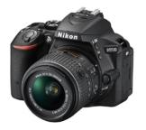 Nikon D5500 SLR-Digitalkamera (24,2 Megapixel, 8,1 cm (3,2 Zoll) Neig- und drehbares Touchscreen-Display, 39 AF-Messfelder, ISO 100-25.600, Full-HD-Video, Wi-Fi, HDMI) Kit inkl. DX 18-55 mm VR II Objektiv schwarz - 1