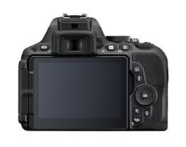 Nikon D5500 SLR-Digitalkamera (24,2 Megapixel, 8,1 cm (3,2 Zoll) Neig- und drehbares Touchscreen-Display, 39 AF-Messfelder, ISO 100-25.600, Full-HD-Video, Wi-Fi, HDMI) nur Gehäuse schwarz - 1