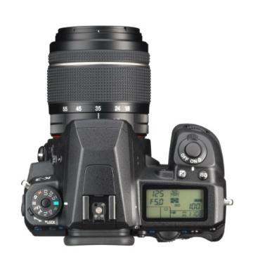 Pentax K-3 SLR-Digitalkamera (24 Megapixel, 8,1 cm (3,2 Zoll) LCD-Display, Live View, Full HD) inkl. DAL18-55 WR kit schwarz - 3