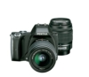Pentax K-S1 SLR-Digitalkamera (20 Megapixel, 7,6 cm (3 Zoll) TFT Farb-LCD-Display, ultrakompaktes Gehäuse, Anti-Moiré-Funktion, Empfindlichkeit bis zu ISO 51200, Full-HD-Video, Wi-Fi, HDMI) inkl Double Zoom Kit DAL18-55 mm und DAL 50-200 mm Objektiv schwarz - 1